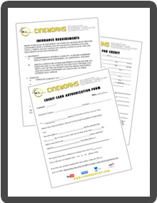 Cineworks Inc. Forms